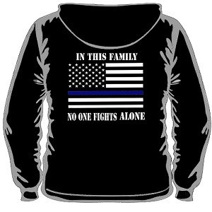 In this family (Hooded Sweater)